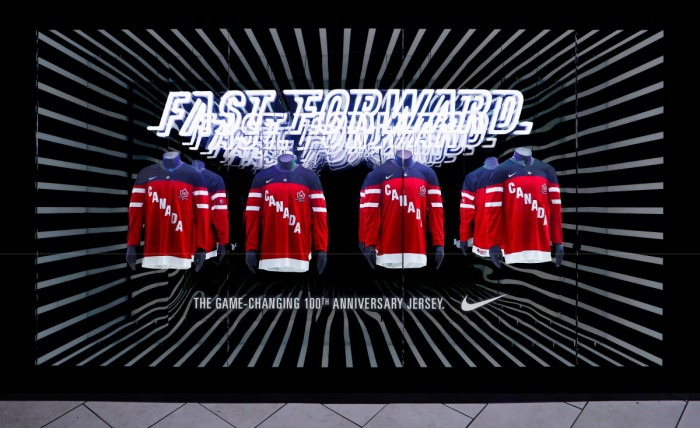 nike fast forward jersey display