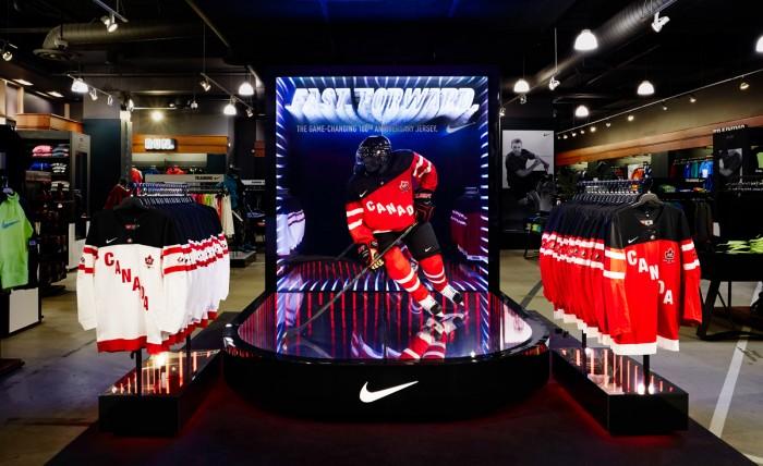 nike hockey canada display feature