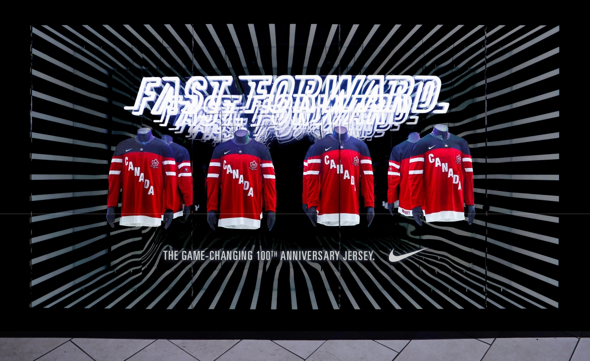 nike fast forward jersey display