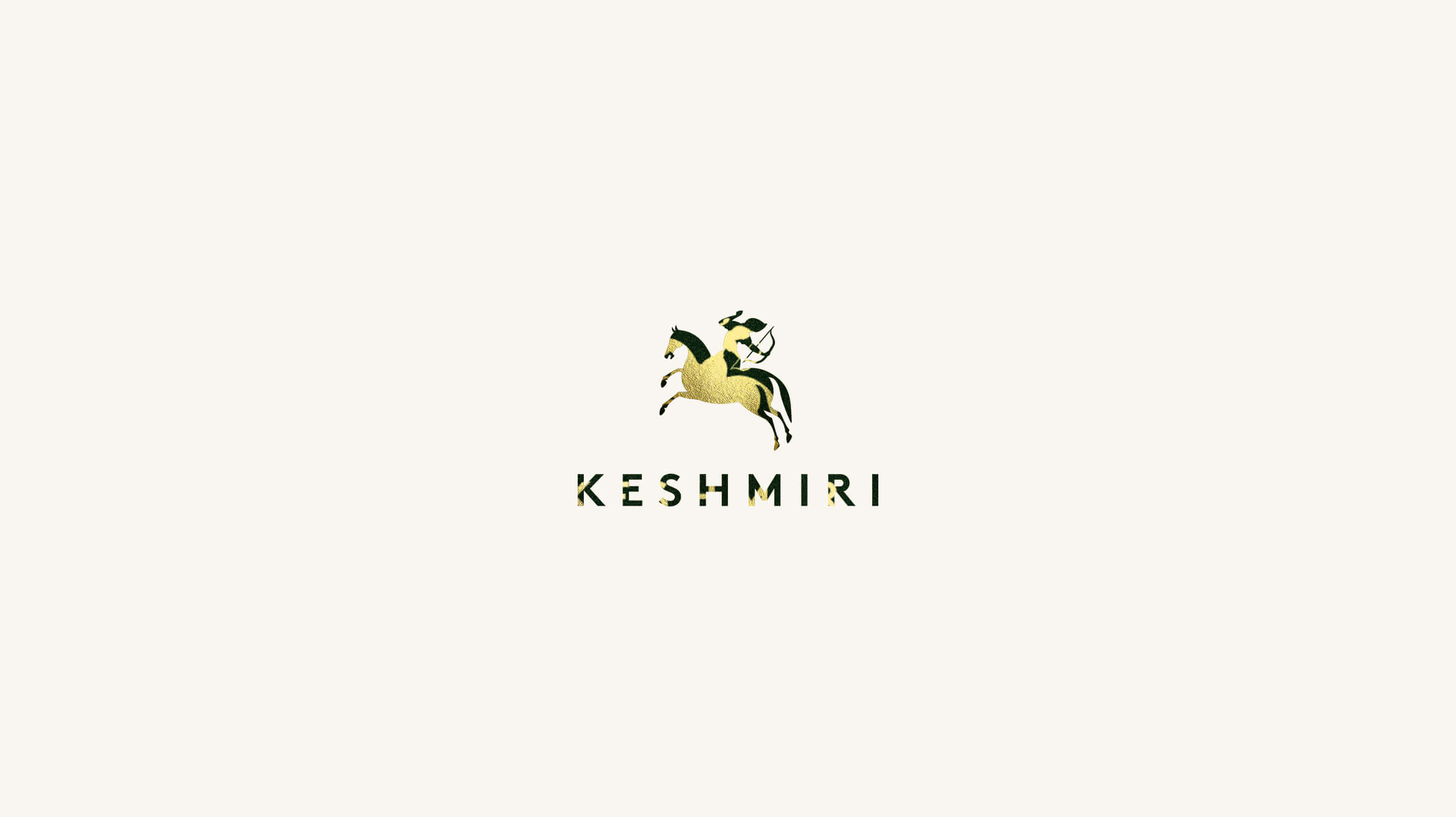 Keshmiri Logo_Gold and Green_MR