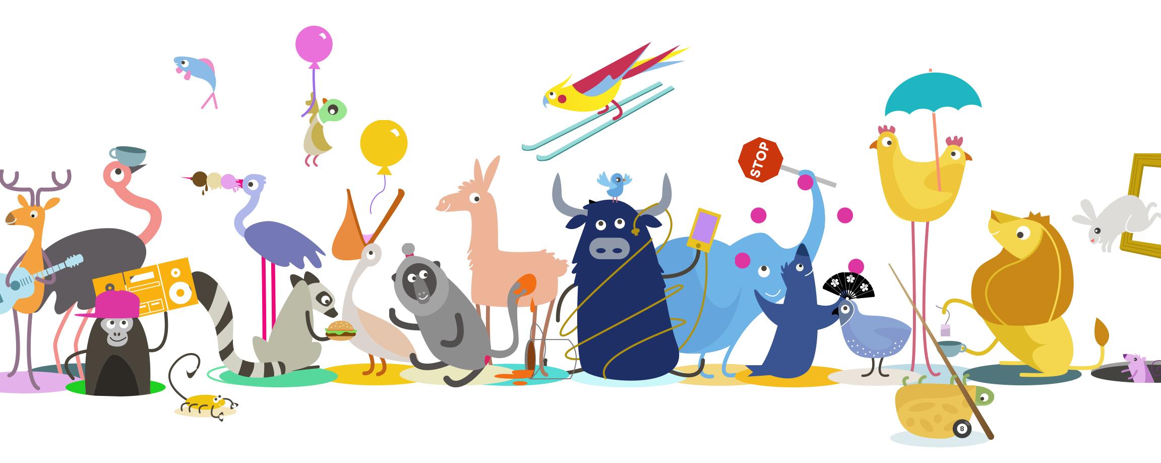 Rethink Animal Illustration Party
